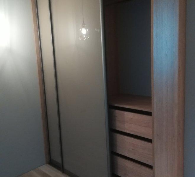 Szafa dwuskrzydłowa szuflady 2