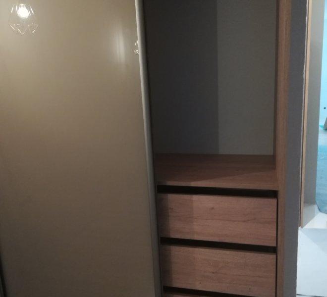 Szafa dwuskrzydłowa szuflady 1